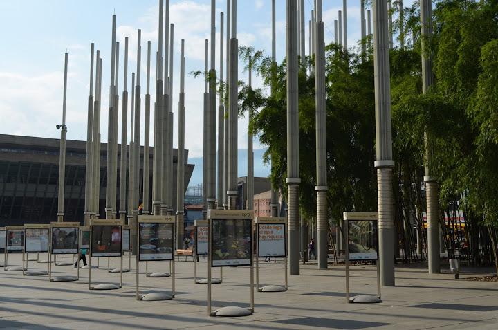 Colombia - Medellin - Plaza de las Luces