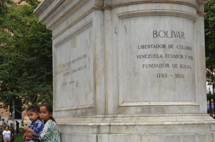 Colombia - Medellin - Bolivar Statue