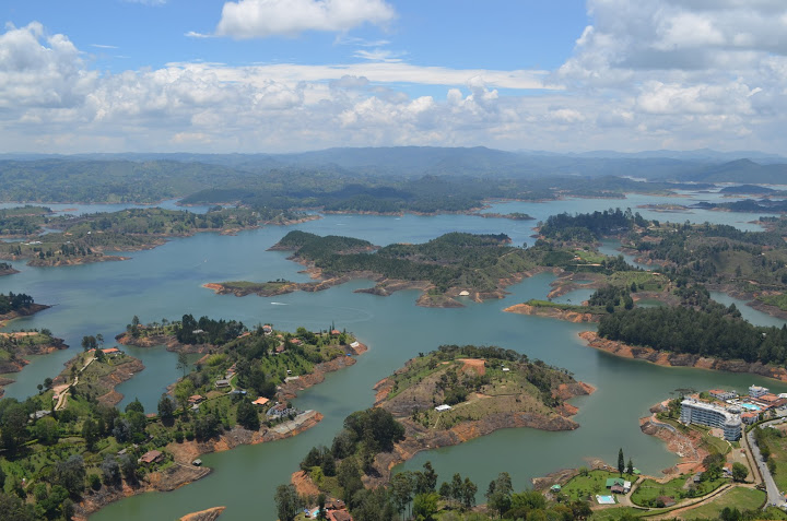Colombia - Guatape - View 2