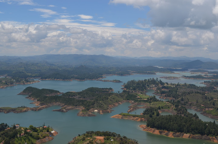 Colombia - Guatape - View 1
