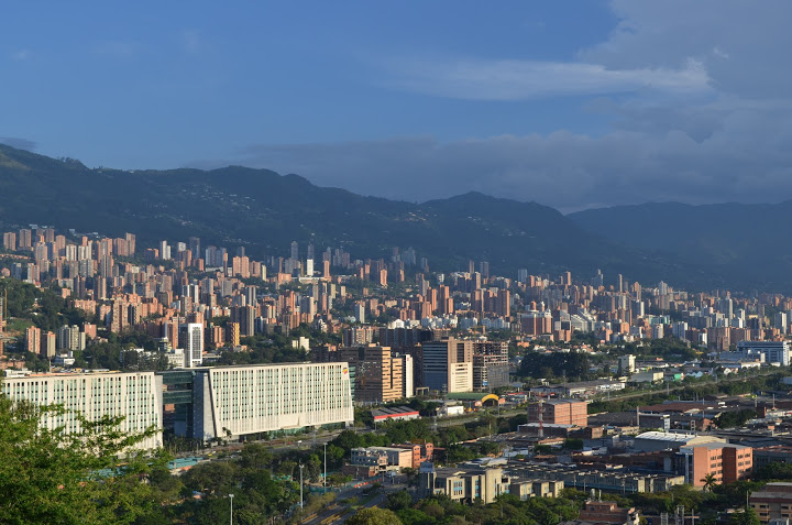 Colombia - Medellin - Skyline 1