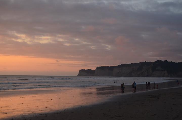 Ecuador - Canoa - Sunset 1