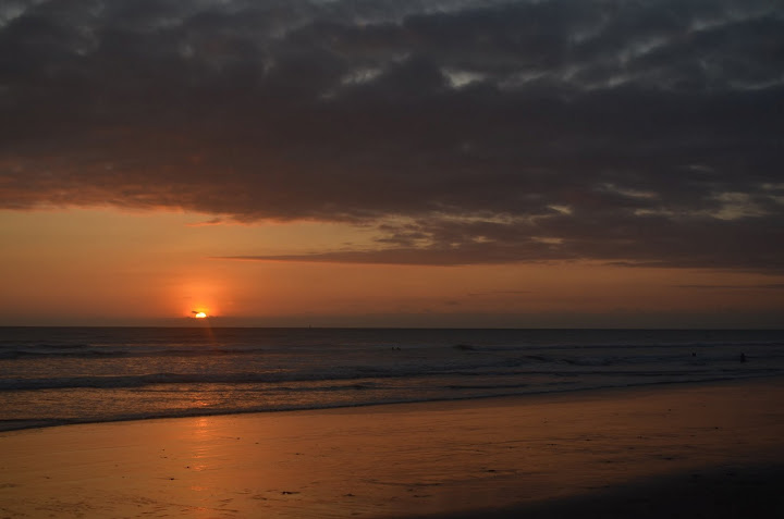 Ecuador - Canoa - Sunset 2