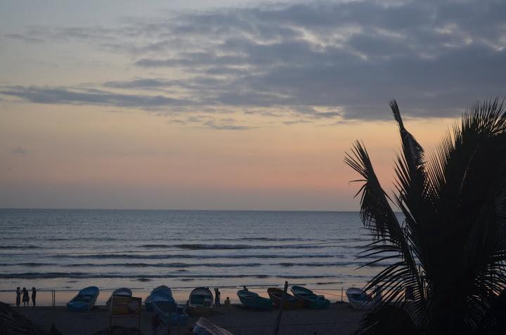 Ecuador - Canoa - Sunset 4