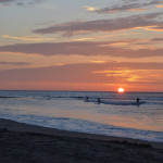 Thru the Lens: Sunset in Mancora