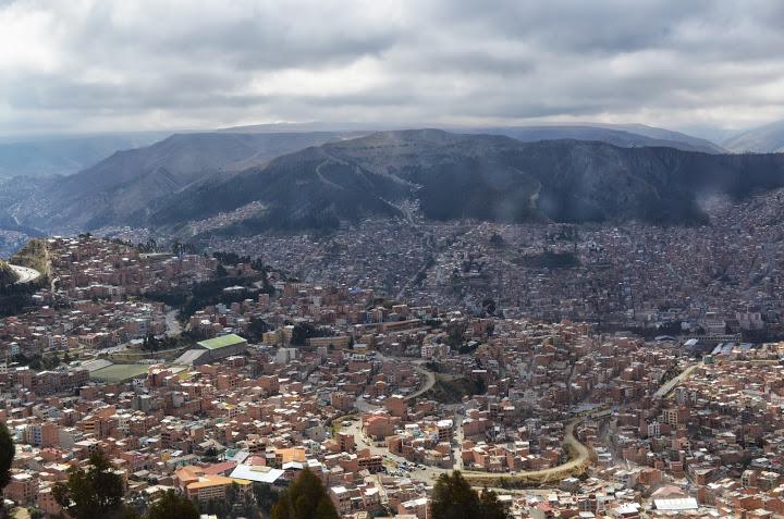 Bolivia - La Paz - Skyline 1