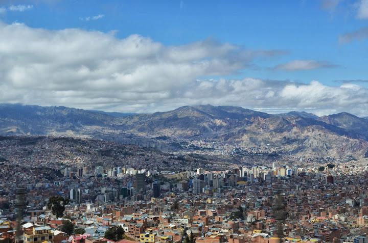 Bolivia - La Paz - Skyline 2