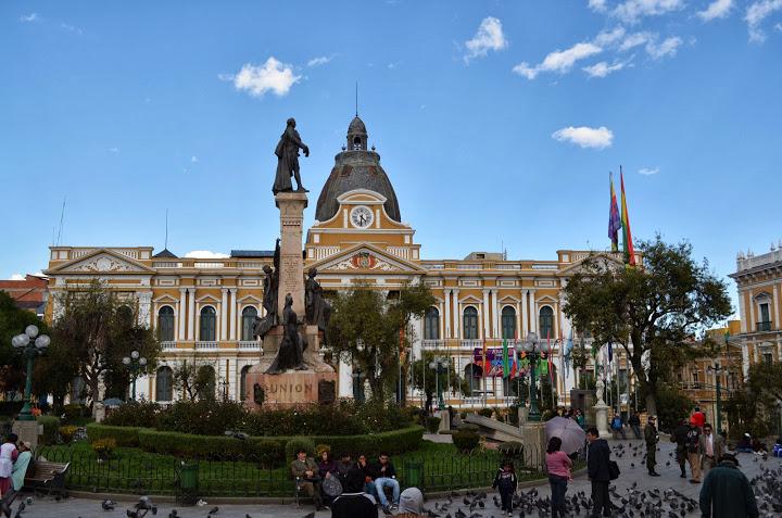 Bolivia - La Paz - Plaza Murillo 1