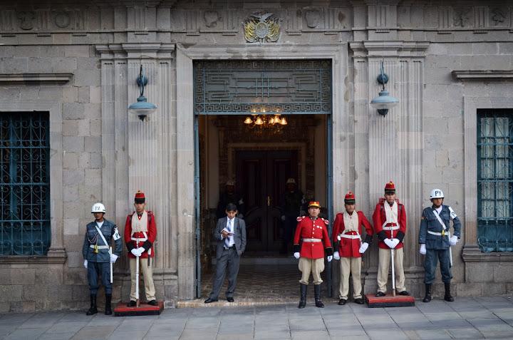 Bolivia - La Paz - Presidential Palace