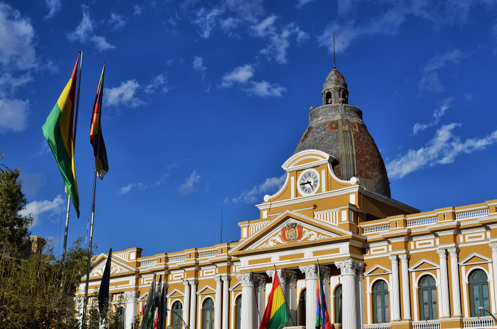 Bolivia - La Paz - Plaza Murillo 2
