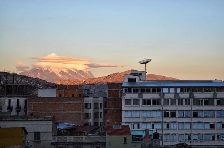 Bolivia - La Paz - Sunset 1