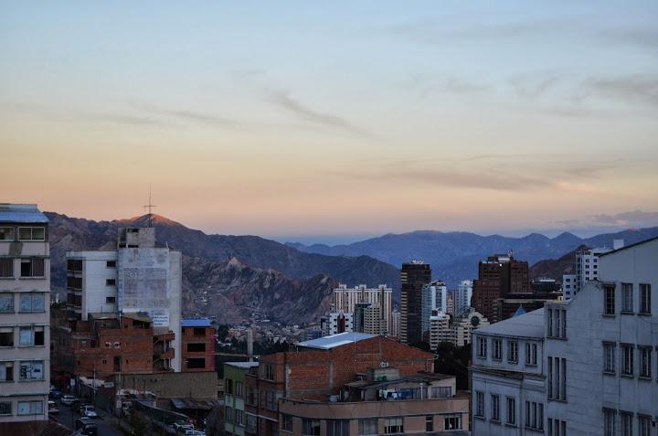 Bolivia - La Paz - Sunset 2