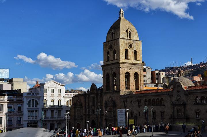 Bolivia - La Paz - Plaza San Francisco