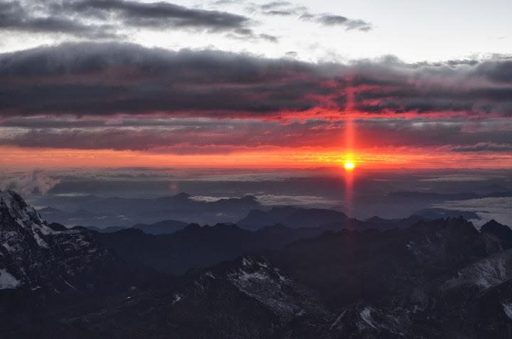 Bolivia - La Paz - Huayna Potosi - Sunrise 02