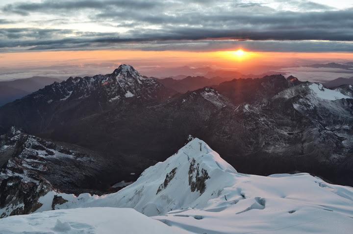 Bolivia - La Paz - Huayna Potosi - Sunrise 03
