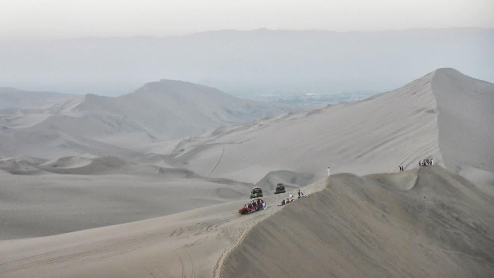 Dune buggies + sandboarding!