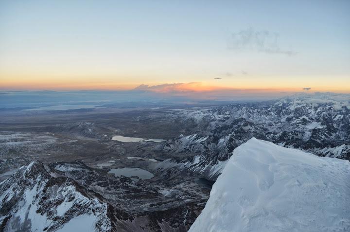 Bolivia - La Paz - Huayna Potosi - Sunrise 04