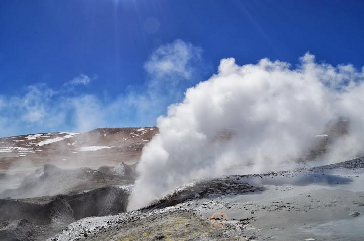 High Altitude (>4000m) Geysers