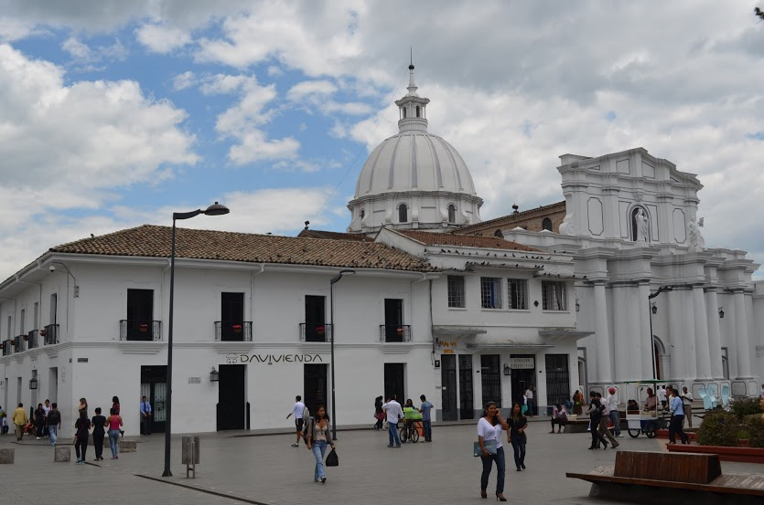 Colombia - Popayan - Main Square