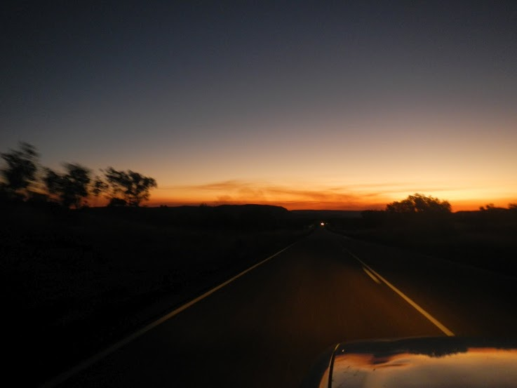 Australia - Outback - Sunset near Broome
