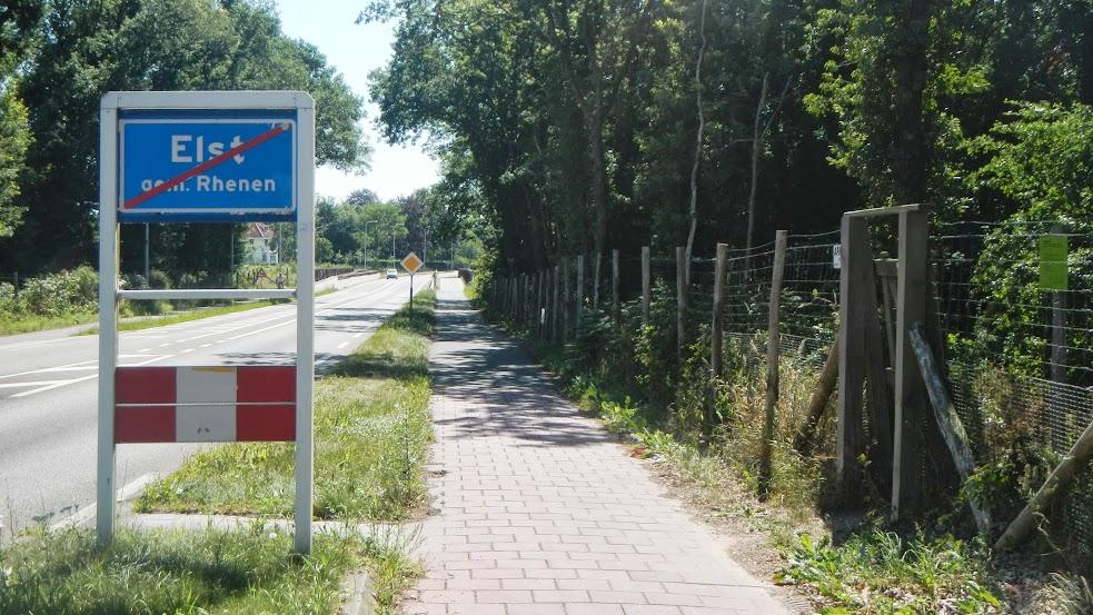 Netherlands - Utrecht to Nijmegen - Leaving Elst
