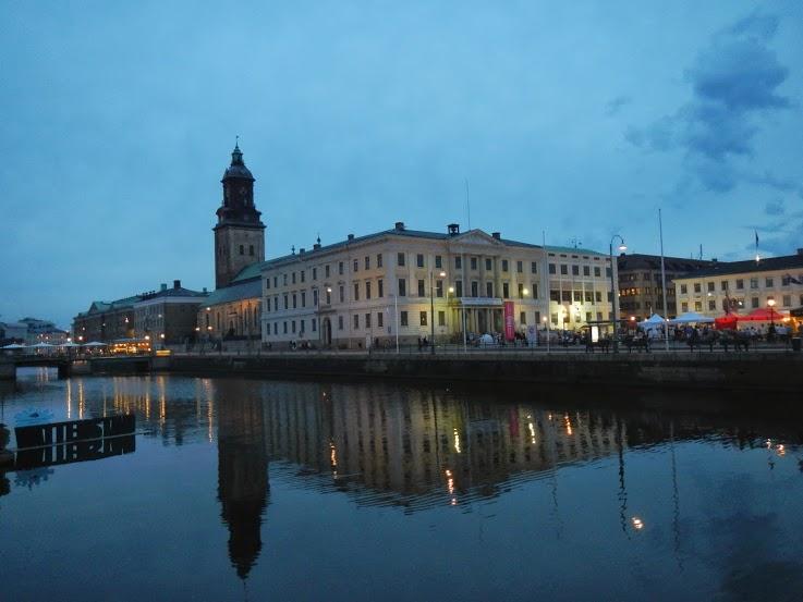 Gothenburg at dusk