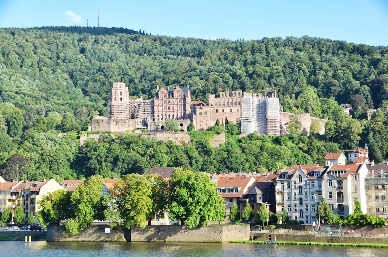 The River Neckar and the Castle