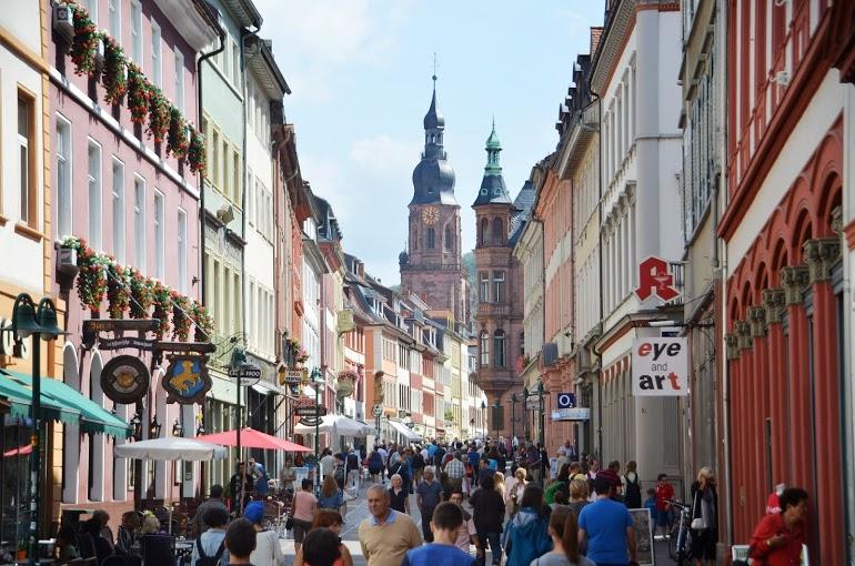 The Hauptstrasse (high street)