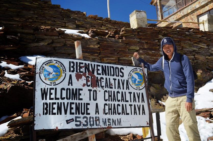 Bolivia - La Paz - Chacaltaya