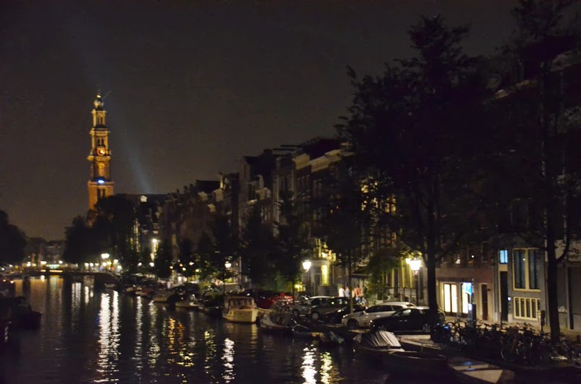 Netherlands - Amsterdam - Cathedral at Night
