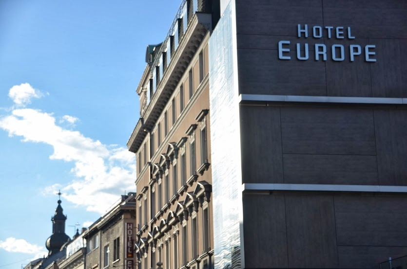 The famous Hotel Europa