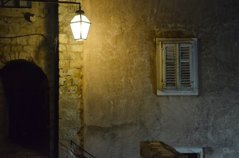 In a forgotten corner of the old city.