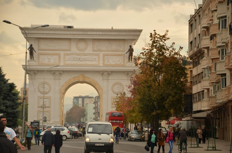 The Macedonian Arc de Triomphe