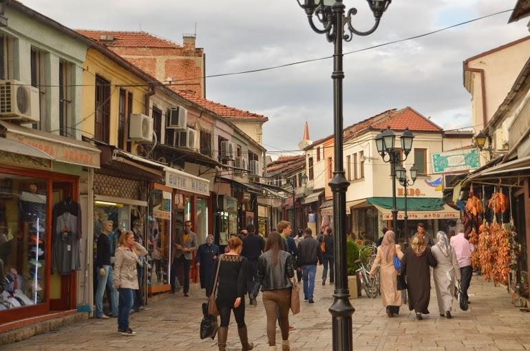 The old bazaar.