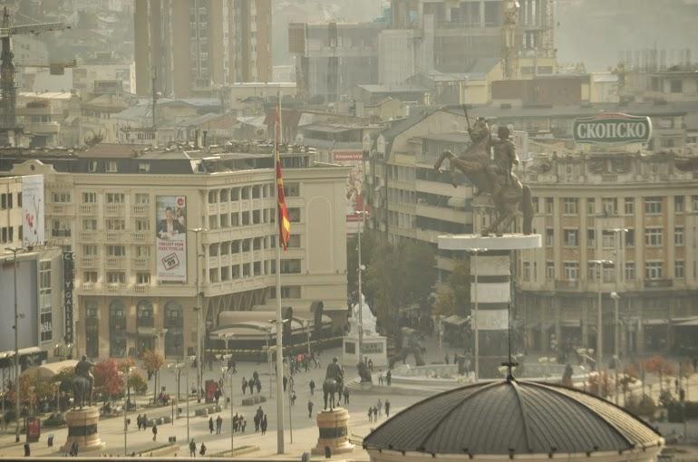The main square.