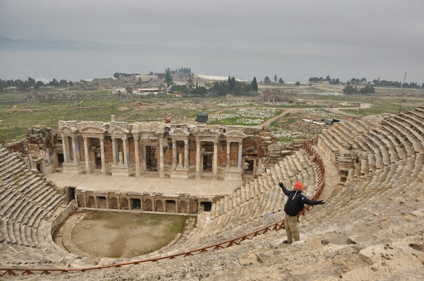 The restored amphitheatre in Hierapolis. Are you not entertained?!