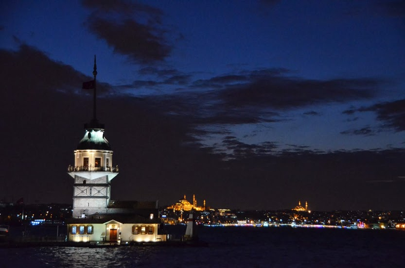 Dusk at Maiden's Tower