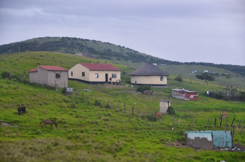 A nearby Xhosa village.