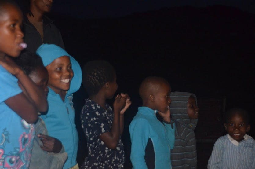 Some of the kids from the Xhosa village. The one furthest on the right is a cheeky one!