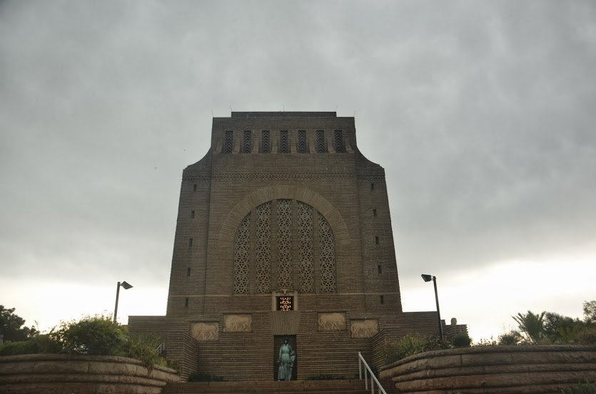 The imposing Voortrekker Monument