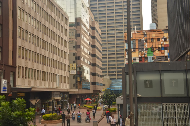 South Africa - Johannesburg - Downtown