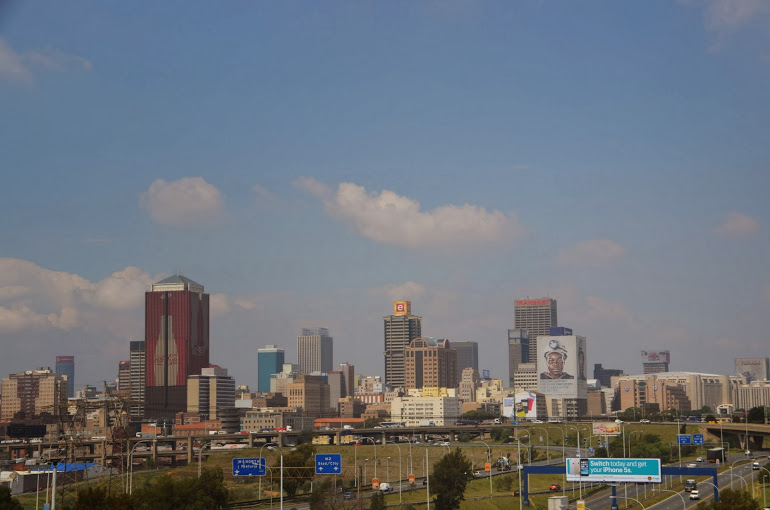 The city skyline