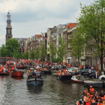 Thru The Lens: King's Day in Amsterdam