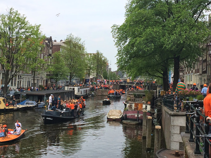Netherlands - Amsterdam - Kings Day