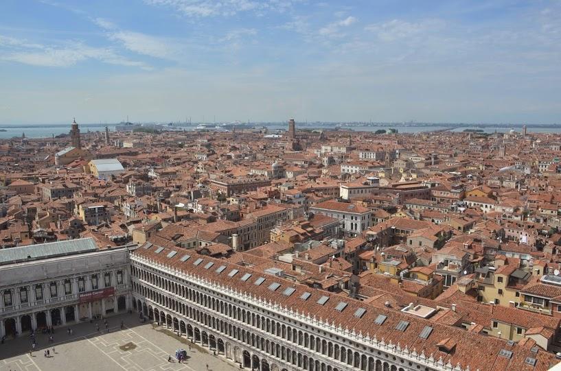 Italy - Venice - Atop St Mark's Campanile