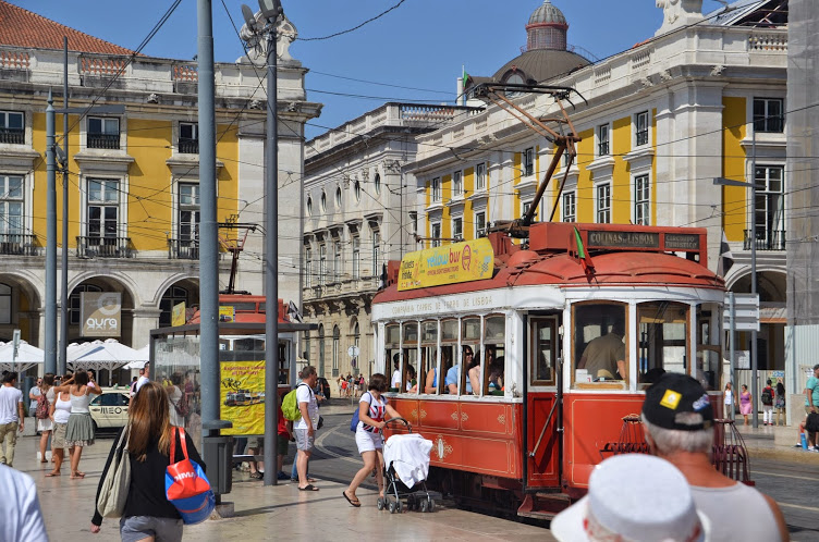Old of the old trams that still move people throughout the city. Although these days, it's mostly full of tourists.