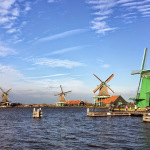 Dutch Windmills in Zaanse Schans