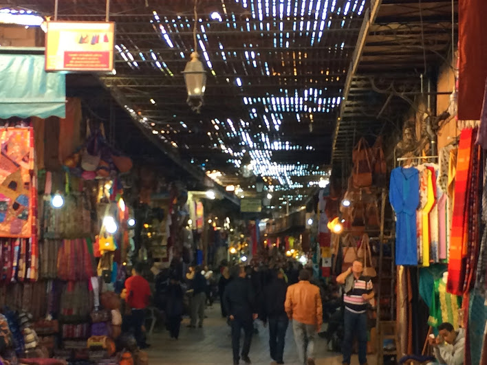 Strolling though the souks